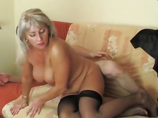 vid: Hot blonde mature hot sex