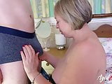AgedLovE Mature Lady Hardcore Fuck With Handy Guy