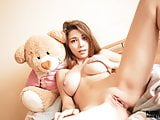 Mila Azul nude model erotic photo shoot fpr Plushies TV
