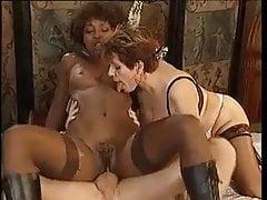 Ebony i białe shaggers