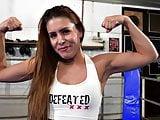 Female Wrestling Body Scissoring Face Sitting Humiliation
