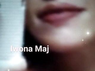 Teen Blowjob Brunette video: Iwona Maj selfie