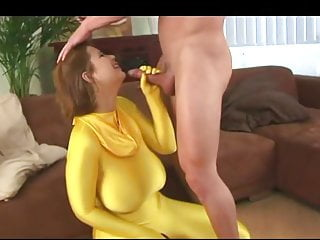 Big Cock Big Tits Big Ass video: Terry Huge Saggy Tits Fucked In Spandex Bodysuit