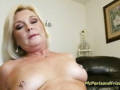 La signora Paris Rose in Creampies