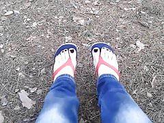 Sexy Füße und Sexy Walk