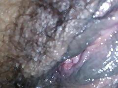 feuchte Muschi für ihren Orgasmus