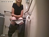 Voyeur Toilet Spy video: toilet wc spy