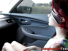 Ruthlessly pounded teen