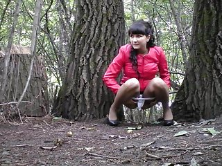 Hidden Cam In Forest Girl Pee Part 4