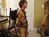 Cute bondage boy