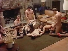 Orgy from Excitement fatal (1992) Angelica Bella