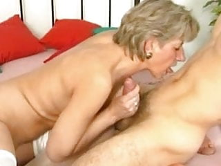 German mature wife and her young lover boy