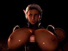 Diese dunkle Elf Dame