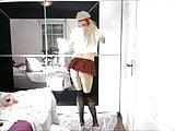 Cute Teen Crossdressing schoolgirl Tranny Anna Rabbit