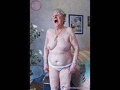 OmaGeiL-Omas gefangen nackt in Zusammenstellung