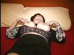 chubby mature sucks and fucks with husband