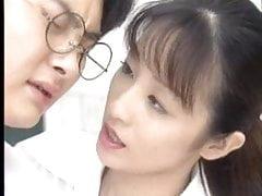 Roztomilý japonský student, který se zvedl od sexy učitele