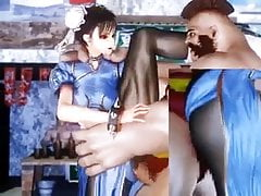 Fighting Girl Chun Li