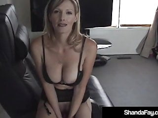 Sex Toys Big Tits Sexy video: Sexy Canadian Cougar Shanda Fay Gets Anal Banged & Creampied