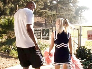 Teens Interracial Petite video: Petite Teen Cheerleader Alyssa Branch Fucks BBC