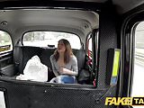 Fake Taxi Hard fucking rocks taxi cab with petite French fox