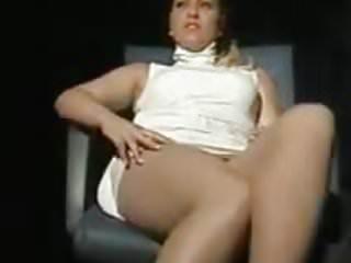 Blondes Striptease porno: Daniela Blume - Version of a scene of Basic Instinct