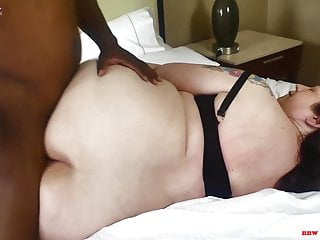 Bbw Blowjob Big Ass video: Mr.Stixxx visits big booty redhead mom Veronica Red