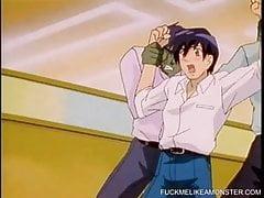 Procace Hentai Cuties Gangbanged Da uomini e mostri