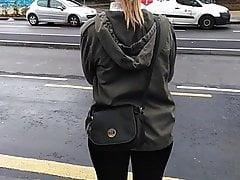 Type de chic J'aime baiser les leggings (candides) + Bonjour jab
