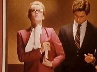 Pornstars Public Nudity Vintage video: Amber Lynn Elevator