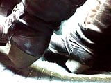 Pedal pumping and cranking in my boots close up angle TEASER