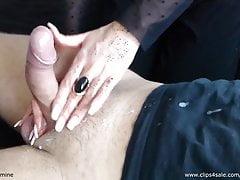 Sensual Jasmine - Tease a popření # 1 - Cumshot - Amatér