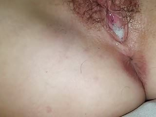 Cuckold Creampie Bbc video: another bbc creampie for hot wife