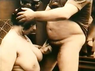 Vintage Bbw Threesome video: Vintage Retro Spanish Porn Years 20