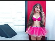 Super Sexy Latina Hairplay, Striptease and Brushing
