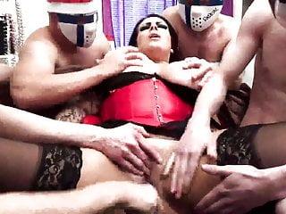 Gangbang Hardcore Bbw video: x-mas gangbang - nordic porn - suomiporno