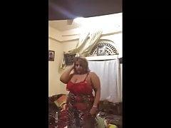 Arabski seksowny saudyjski taniec mamuśki