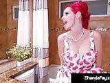 Cougar Shanda Fay Fucks & Sucks A Stiff Dick & Gets Her Cum!