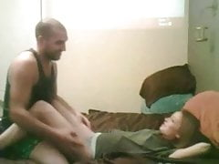 Lucky guy fucks his beautiful babe
