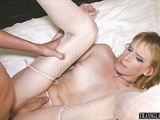 Masturbation Shemale Guy Fucks Shemale Shemale xxx: TGirl Slave Gets Fucked By Her New Male Servant