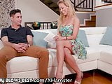 Hottest StepMom Cherie Deville Rewards StepSon With BJ