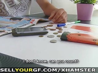 出售你的gf,她想要更多的現金和性
