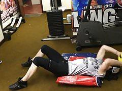 WWE - Paige allenarsi in palestra