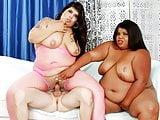 BBWs Bella Bangs, Peaches Love Fuck Dude