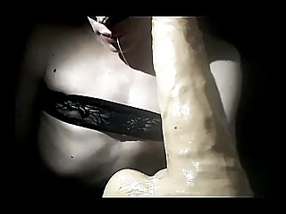 Shemale Porn Shemale Solo Shemale Sex Toy Shemale video: gagging close up
