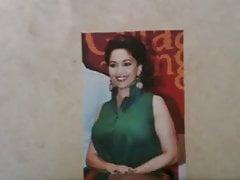 Madhuri Dixit Cumshot Tribute