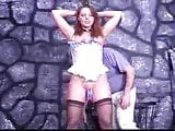 Vintage slave used master pins tit and pussy torture KOLI