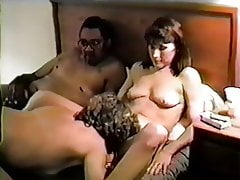 Vintage Hotwife Dee in a Hotel Orgy