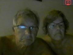 grand-père - grand-mère cam show
