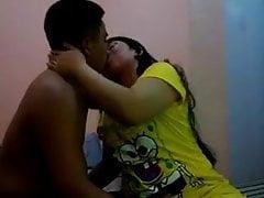 Pornostar Juliet Delrosario Kissing With Black Man